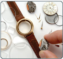 Complex quartz watch repair.