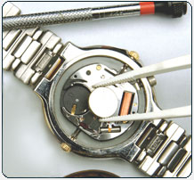 Watch Replacement and Capacitor Replacement